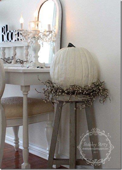 shabby chic fall decor shabby chic fall style fall decorating fall decor diy pumpkins the white