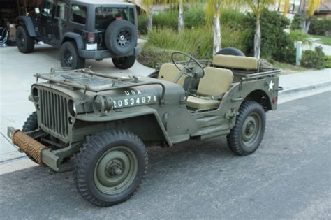wwii jeep willys 1944 willys mb ww2 jeep wwii restored not ford gpw 1941