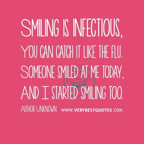 smiling  infectious smile quotes amazing smile