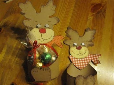 weihnachtsbasteln elch schachtel basteln bastelideen weihnachten youtube