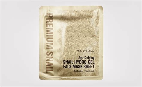 review tonymoly age defying snail hydro gel face mask