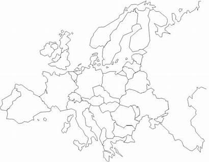 Europe Map Printable Maps Blank Coloring Western