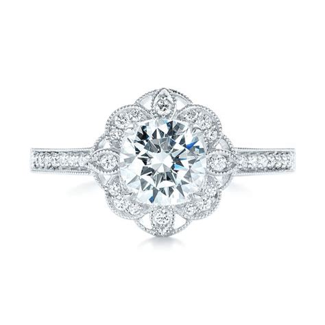 fancy halo diamond engagement ring 103048 seattle