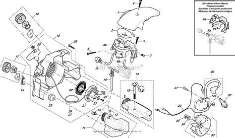 dolmar ps  chain saws gasoline parts diagram