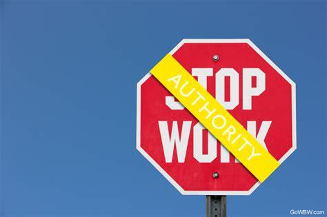 steps  establish  effective stop work authority program