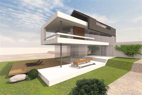 Wohnen Der Zukunft 3d Das Haus Im Computer by Modernes Wohnhaus Mit Satteldach Entwurf F 252 R Ein Schmales