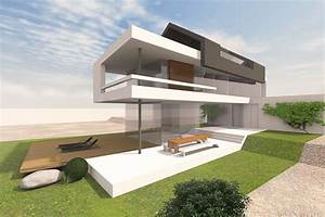 Moderne Häuser Mit Satteldach : modernes wohnhaus mit satteldach entwurf f r ein schmales ~ Lizthompson.info Haus und Dekorationen