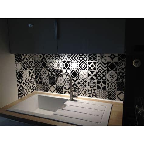 recouvrir du carrelage de cuisine carrelage adhésif vintage bilbao patchwork smart tiles