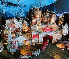 christmas village display ebay