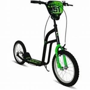Concept Alien Scooter Neon Green