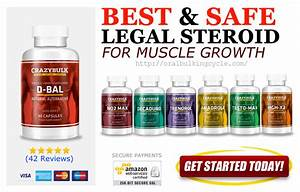 8 Best Legal Steroids Pills For Muscle Growth