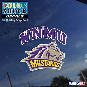Western New Mexico University Mustangs Decal | Western New ...