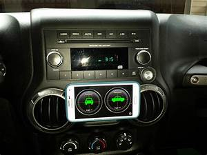 Gps   Phone Mount For Center Dashboard