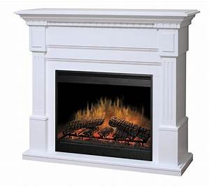 Essex White Electric Fireplace by Dimplex