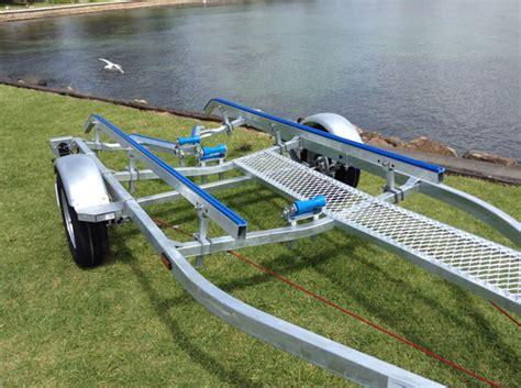 Boat Trailer Walkway by 5 2m Galvanised Boat Trailer At Manning Marine Kiama