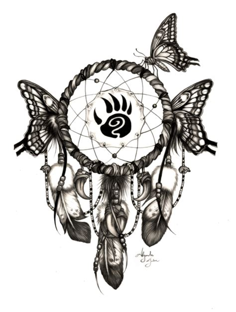 alejandro jake artwork butterfly dream catcher original