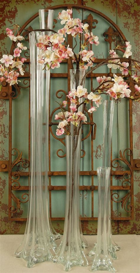 Flowers For Vases by Eiffel Tower Vase 27 5in Clear Wedding In 2019 Eiffel