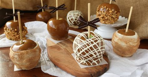 gourmet caramel apples      kitchen cents