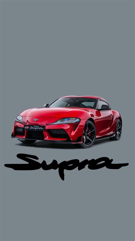 2020 Toyota Supra Phone Wallpaper by Some A90 2020 Supra Phone Wallpapers I And Done