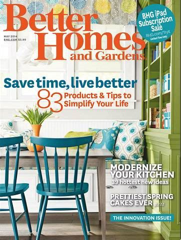 better homes and gardens may 2014 187 digital magazines