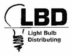 lbd light bulb distributing trademark of sherizen inc