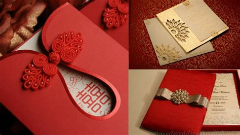fashionable wedding cards indian wedding card design