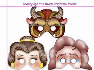 Unique Beauty and the Beast Printable by HolidayPartyStar ...