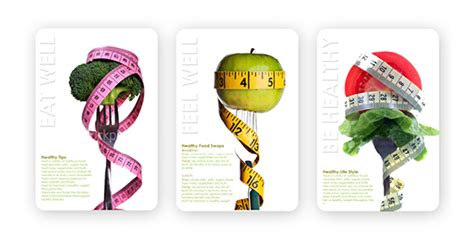 large posters healthy eating pelumii ux ui creative consultant
