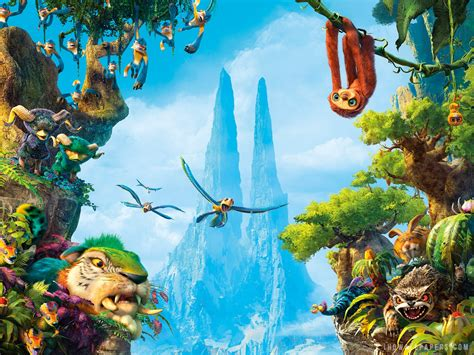 Croodaceous Creatures From The Croods