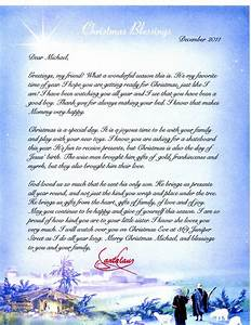 religious letter from santa claus personalized With personalized christmas letters from santa claus