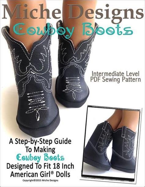 miche designs cowboy boots doll clothes pattern