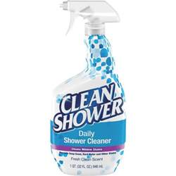 arm hammer clean shower bathroom shower cleaner unoclean