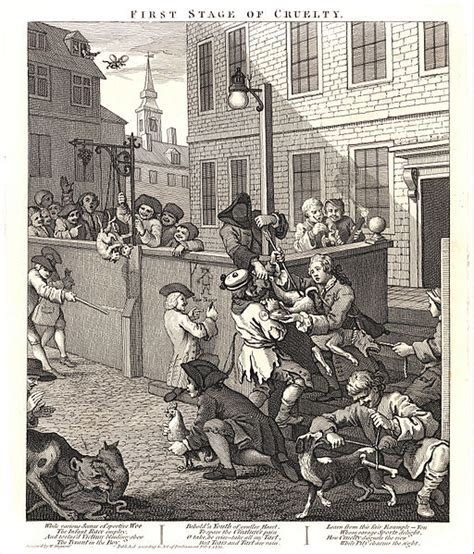 Filewilliam Hogarth The First Stage Of Cruelty