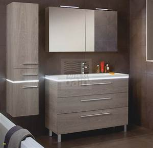 Meuble De Salle De Bain Avec Miroir : armoire salle de bain avec miroir meuble de salle de bain 100 cm modele de salle de bain moderne ~ Nature-et-papiers.com Idées de Décoration