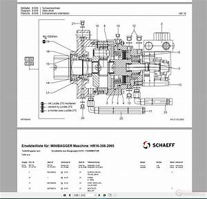Terex Schaeff Parts Manuals Full Set Dvd