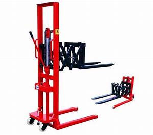 China 2 Ton Hand Lifter Manual Stacker Jack Transpallet