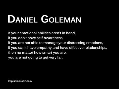 Daniel Goleman Emotion Quotes Inspiration Boost