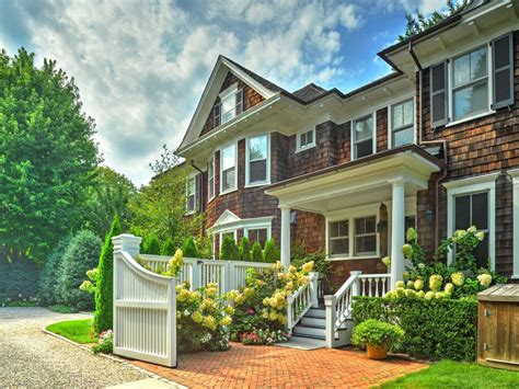 traditional southampton village home restored