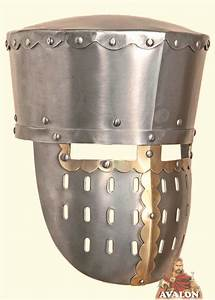 Great Helm - Knights Templars Helmet