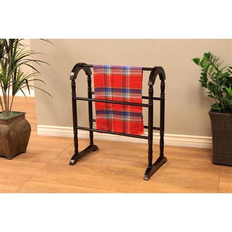 wooden blanket rack megahome contemporary wooden coat rack quilt rack in