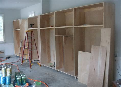 Garage Storage Cabinet Plans Or Ideas by Diy Garage Storage Cabinets Plans Home Design Ideas