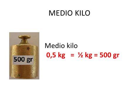 el peso y la masa