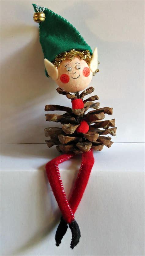 pine cone elf allfreeholidaycraftscom