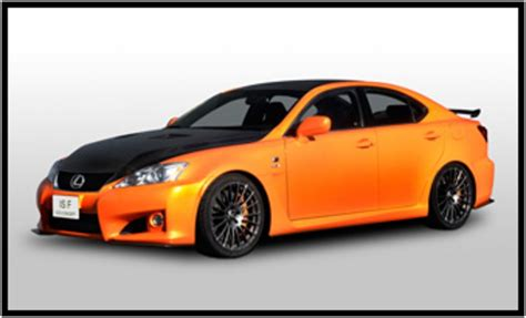 2010 Sport Cars by 2010 Lexus Is F Circuit Club Sport Concept Review Top Speed