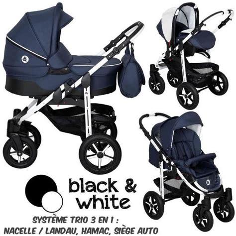 reglementation siege auto bebe poussette trio 3 en 1 b w bleu marine bebe black white