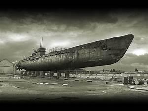 A German Wwii Submarine