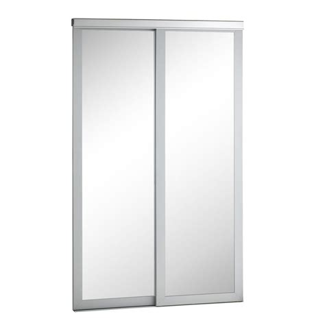 pinecroft 60 in x 80 in mirror silver frame