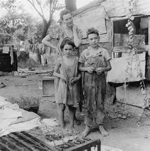 Women and Children during Great Depression