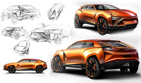 future lamborghini lamborghini concept design sketches car body design