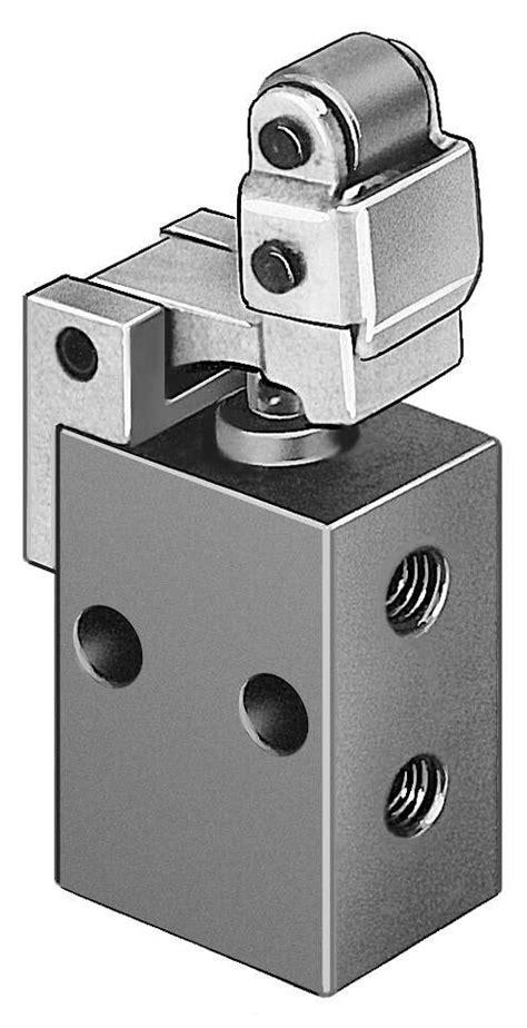 Toggle lever valve with idle return L-3-M5 | Festo USA